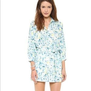 Lovers + Friends Leilani Shirt Dress Floral